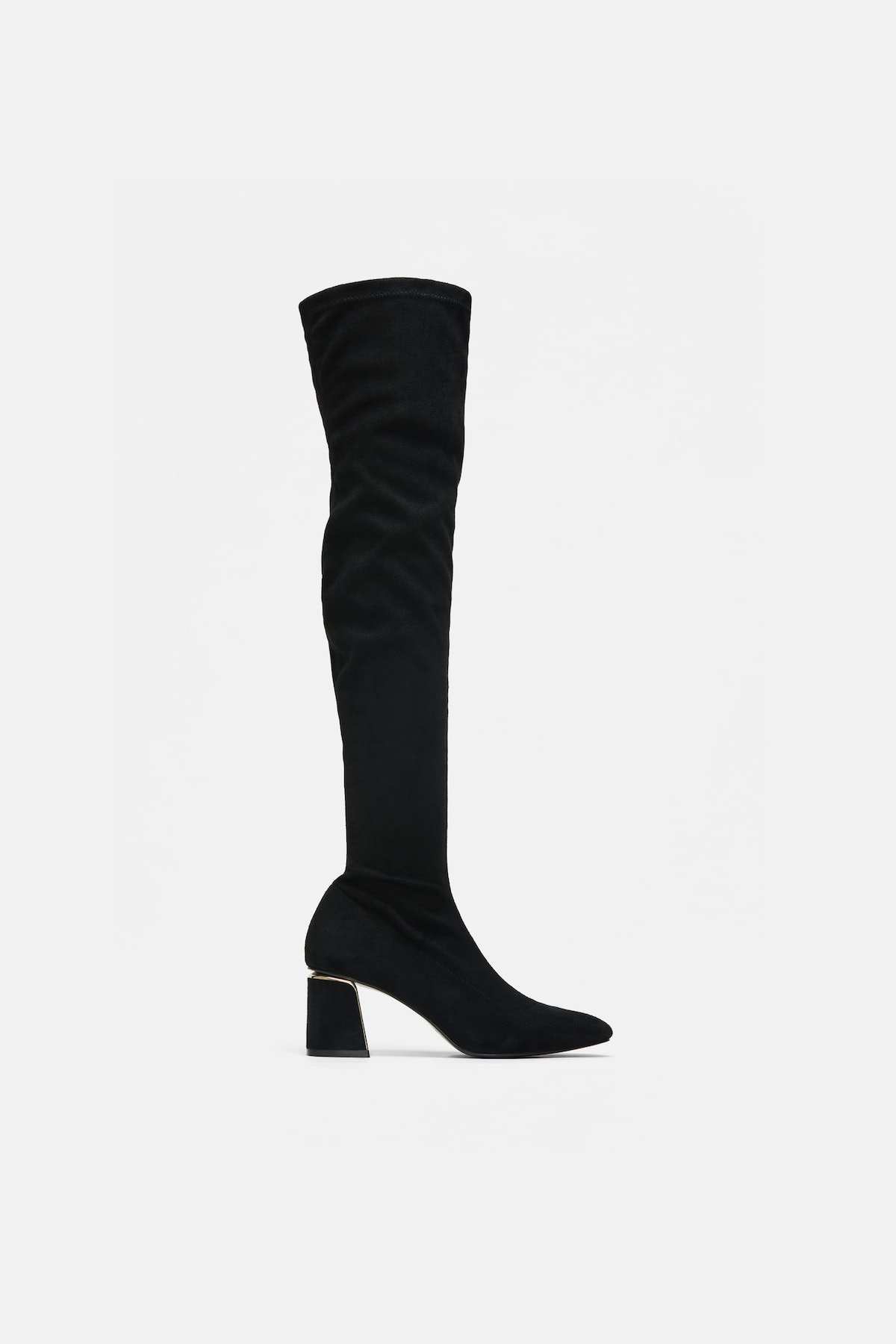 Over-The-Knee Heeled Boots