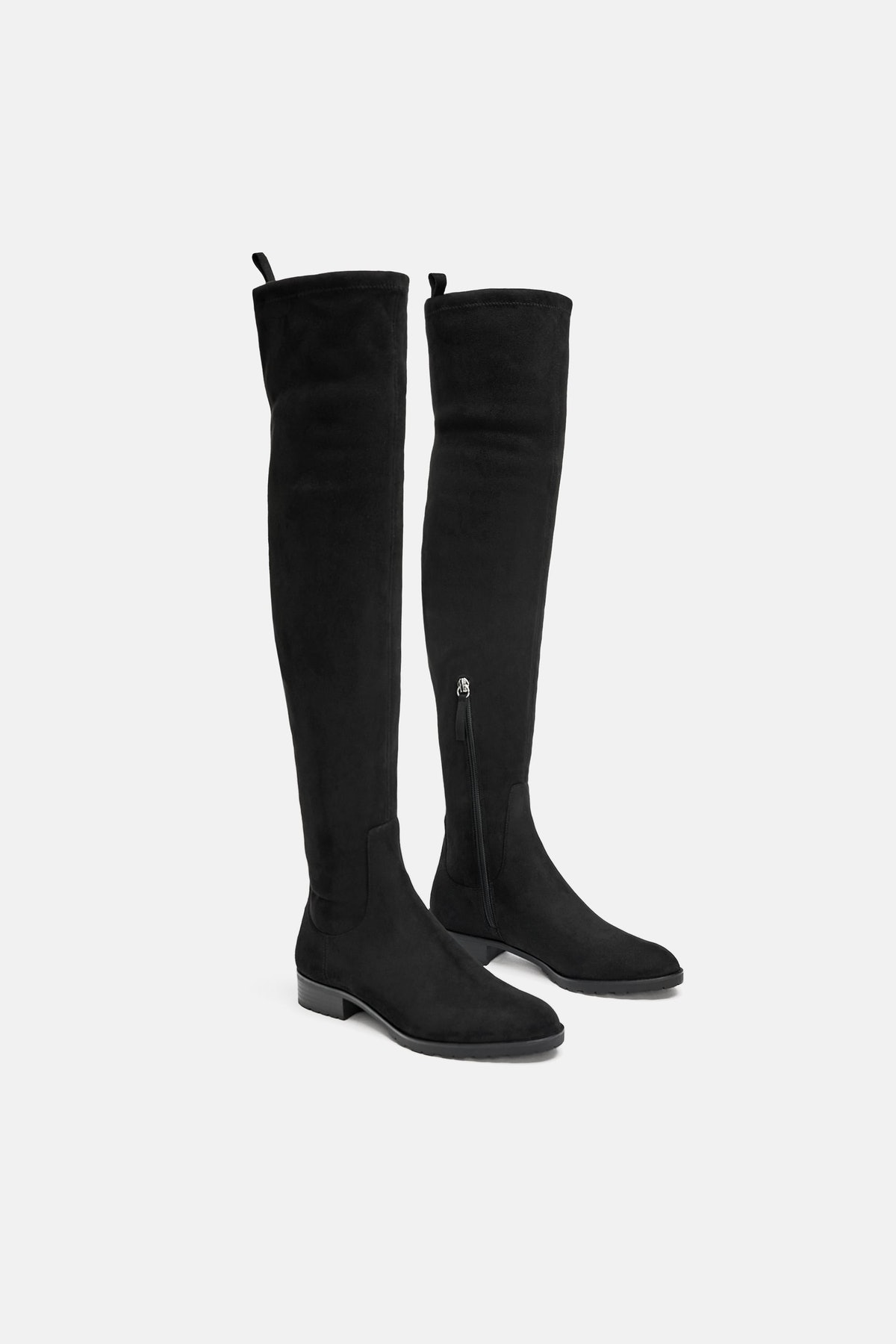 Flat Heeled Over-The-Knee Boots