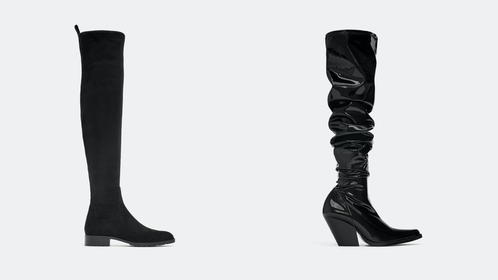 c92b0f5c65fe Black Over-The-Knee Boots To Pair With Literally Everything In Your Fall  Wardrobe