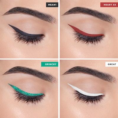 Heart Line 4-Piece Liquid Eyeliner Set