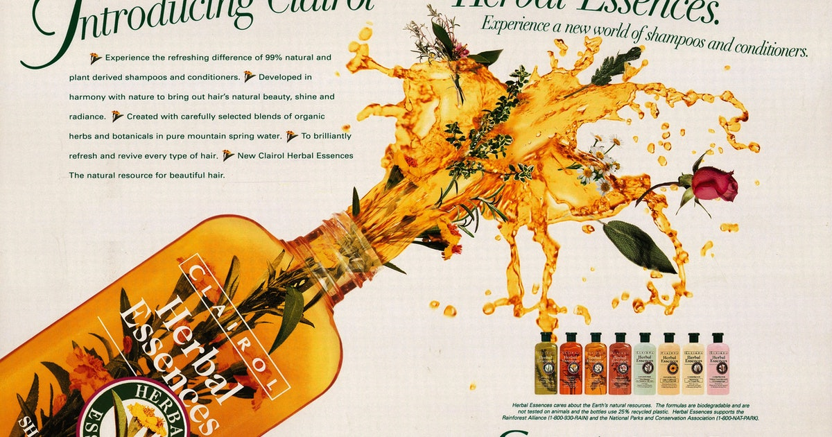 How Herbal Essences' '90s Shampoo Scents Became Iconic