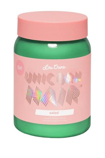 "Lime Crime Unicorn Hair Semi-Permanent Hair Color Tint in ""Salad"""