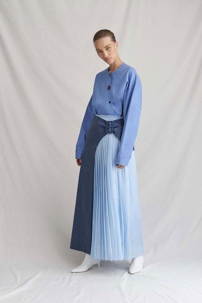 Linda Blue Skirt