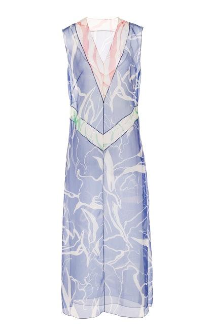 Organza Voile Slip Dress