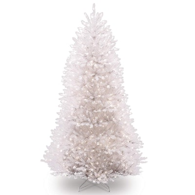 National Tree White Dunhill Fir Artificial Christmas Tree