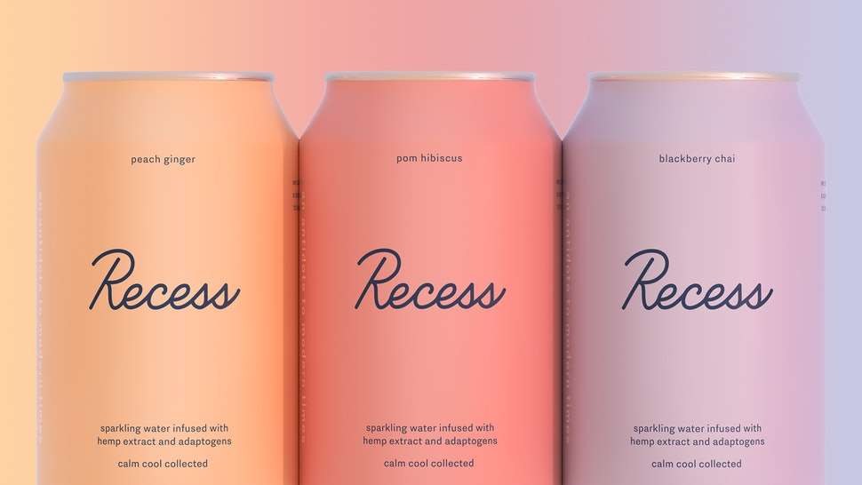 Recess CBD & Adaptogen-Infused Seltzer Is The Chillest