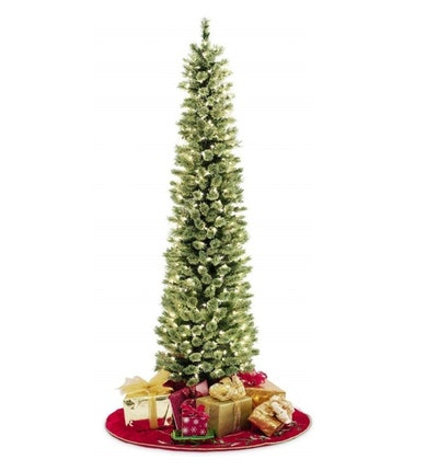 Pencil Slim Artificial Christmas Tree