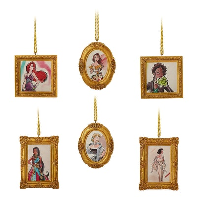Disney Princess Ornament Set - Disney Designer Collection - Limited Edition