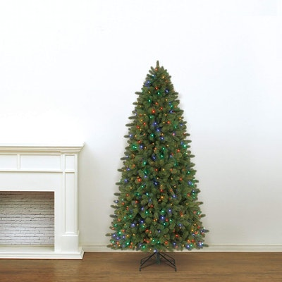 Evergreen Classics Color-Changing Spruce Artificial Christmas Tree