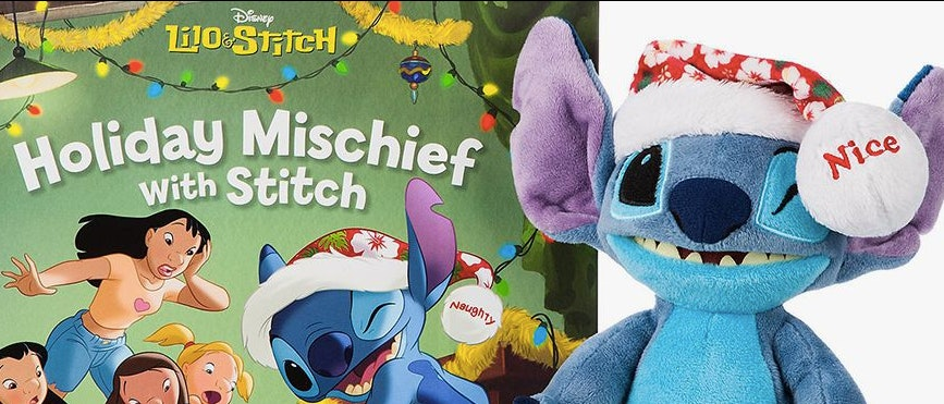 This 'Lilo & Stitch' Version Of Elf On The Shelf Will Make Merry Mischief This Holiday Season