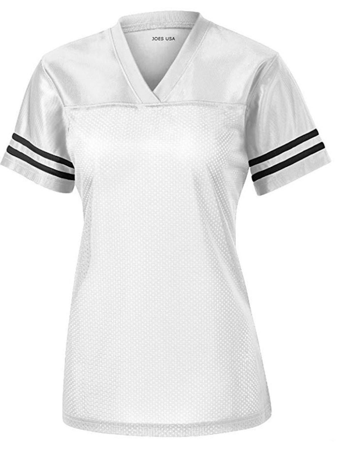 Joe's USA Ladies Replica Football Jerseys in Adult Sizes: XS-4XL