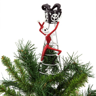 Jack Skellington Tree Topper - Nightmare Before Christmas