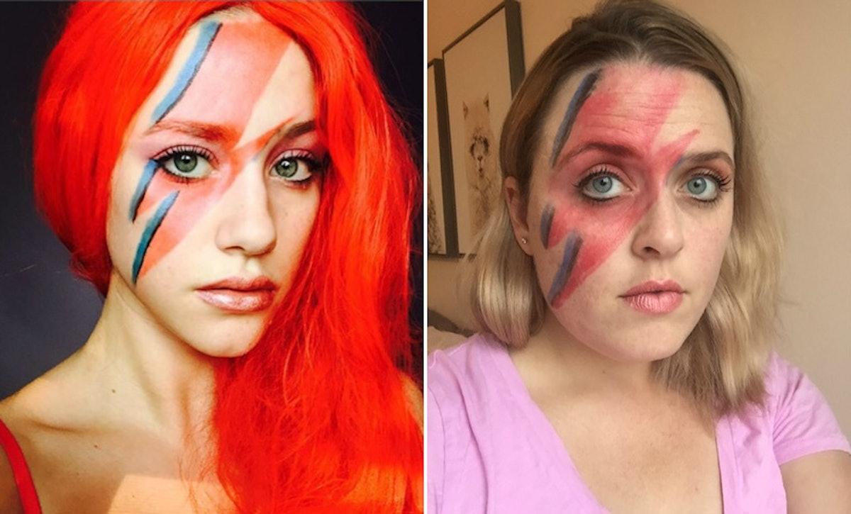 I Tried Lili Reinhart's Halloween Makeup Looks & TBH, I Did Not Nail It