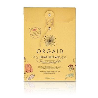 Vitamin C & Revitalizing Organic Sheet Max Box Set of 4