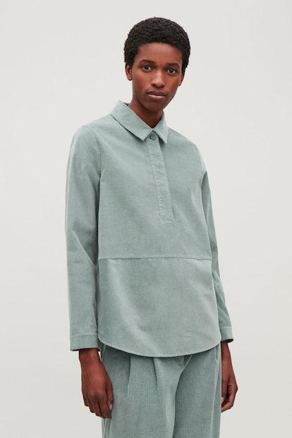 COS Corduroy Overshirt