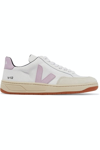 V-12 Mesh, Leather and Nubuck Sneakers