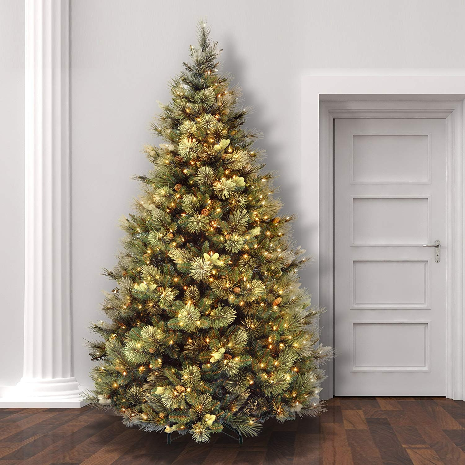 Led Christmas Tree Lights.The 8 Best Artificial Christmas Trees With Led Lights