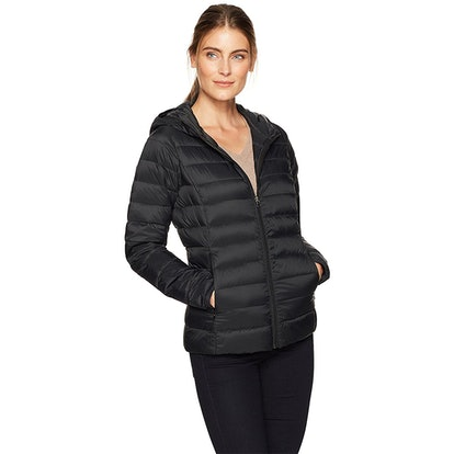 Amazon Essential's Women's Hooded Down Jacket