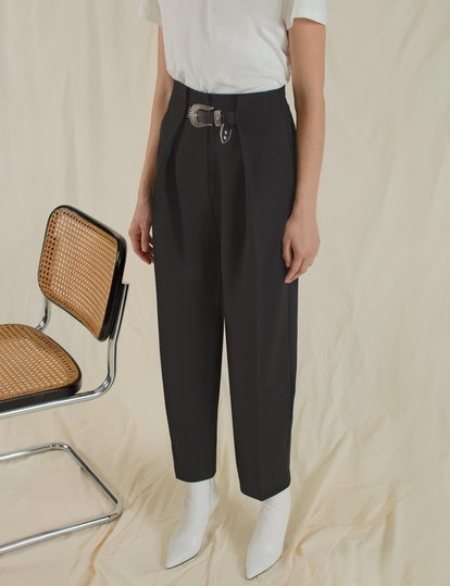 Western Belted Pants