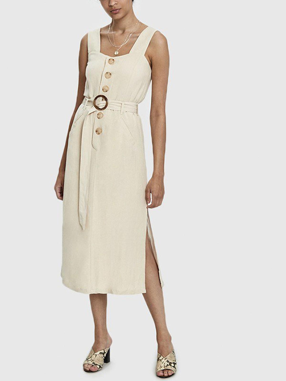 Daphne Button Dress