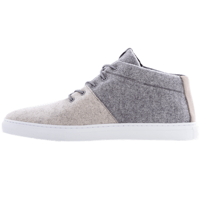 Smart Wooler Trainers in Middle Grey