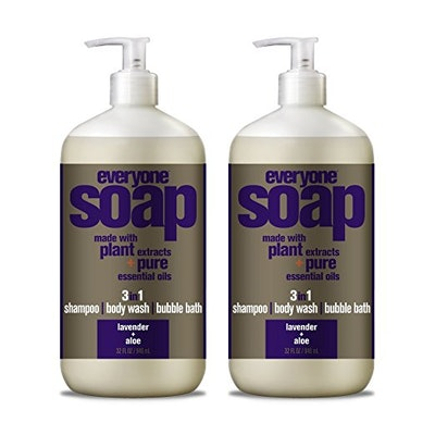 Everyone Soap, Lavender + Aloe, 2-Count
