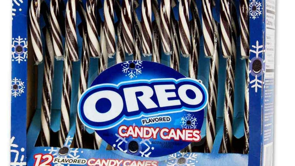 Oreo Candy Canes Are The Tasty Stocking Stuffers You Never Knew You