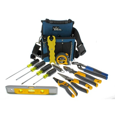 13-Piece Journeyman Electrician's Kit