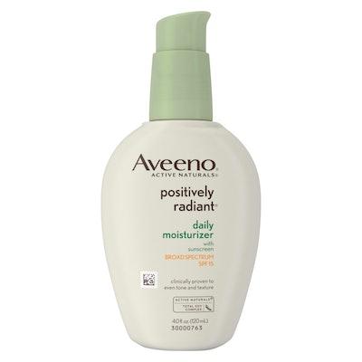 Aveeno Positively Radiant Daily Face Soy Moisturizer - SPF 15 - 4 fl oz