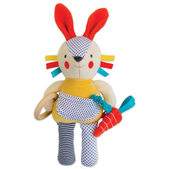 Busy Bunny Organic Activity Doll (0+)
