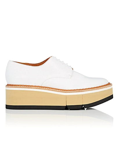 Barbara Leather Platform Oxfords