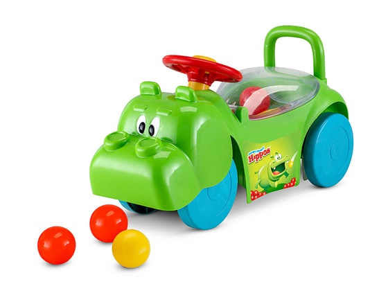 Hungry Hungry Hippos 3-In-1 Scoot & Ride-On Toy (1+)