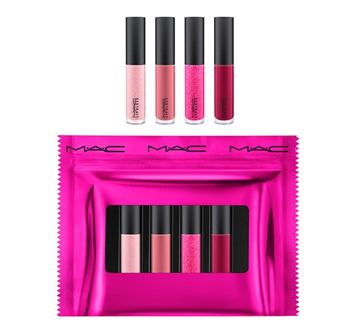 Mini Lip Glosses: Pink