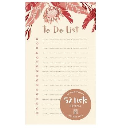 "52 Lists ""To Do"" Pad"