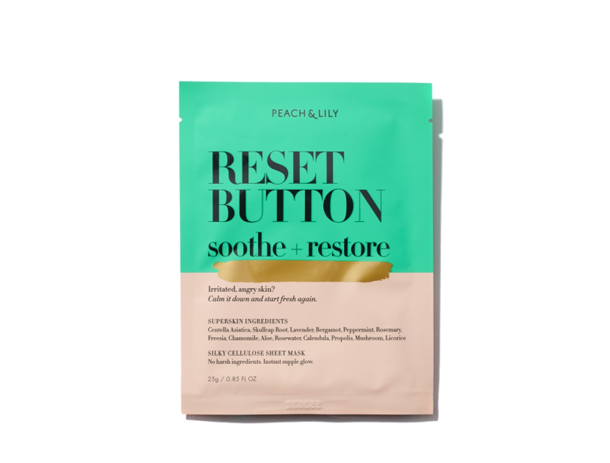 Reset Button Soothe and Resort Sheet Mask