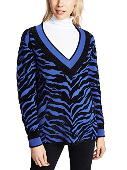 Deep V Sweater