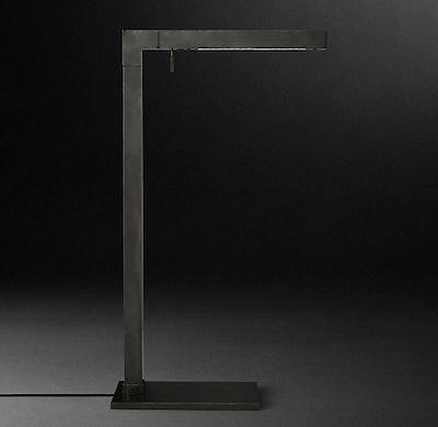 Cannele Task Floor Lamp in Bronze