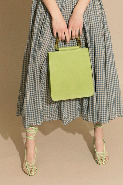 Clyde Chartreuse Rectangle Bag