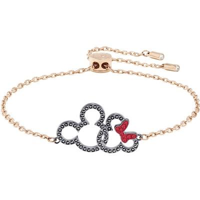 Swarovski Mickey & Minnie Bracelet