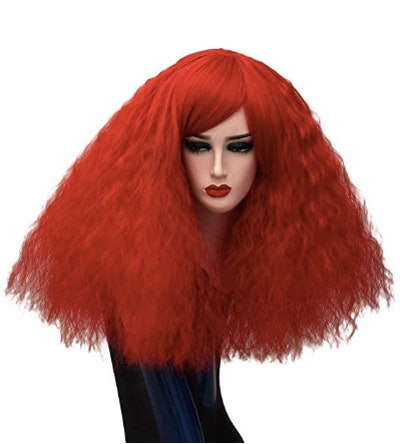 ELIM Costume Wigs Short Fluffy