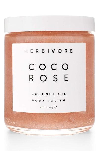 Herbivore Botanicals Cocoa Rose Coconut Oil Body Polish