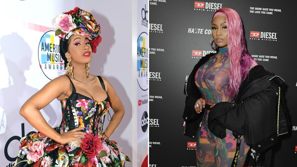 Does Cardi B Diss Nicki Minaj In \