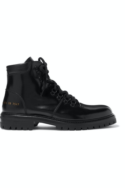 Common Projects Hiking Leather Ankle Boots