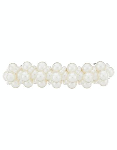 Pearl Cluster Barrette Clip