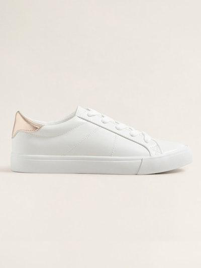 Contrast Appliqué Sneakers