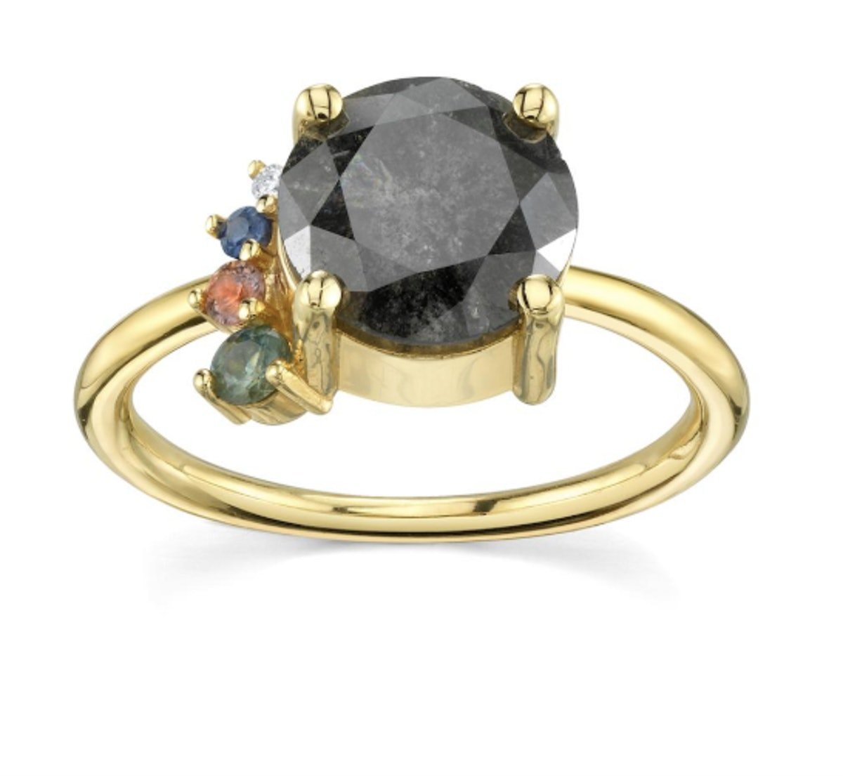 Spaced Out in Love Ring – Yellow Gold