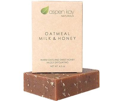 Aspen Kay Organic Oatmeal Soap Bar