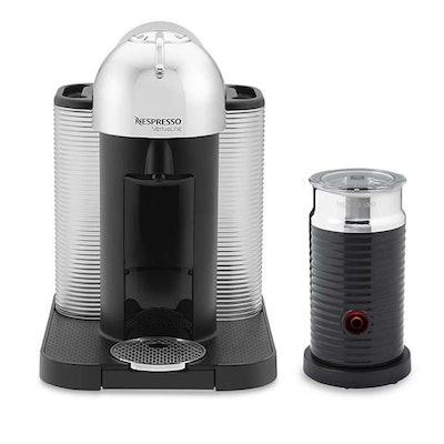 Nespresso Vertuo Coffee Maker & Espresso Machine with Aeroccino Milk Frother