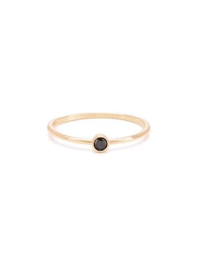 Diamond Solo Ring
