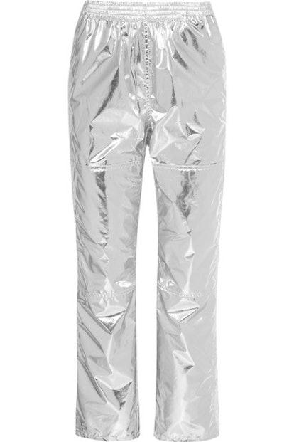 Metallic Track Pants